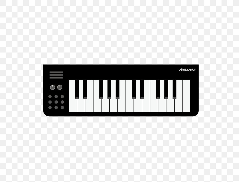 Electronic Keyboard Computer Keyboard Digital Piano Musical Keyboard Png 624x624px Computer Keyboard Black And White Cartoon