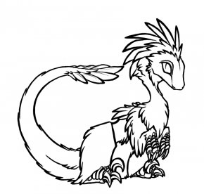 Line Art Animals - Line Art Drawing Coloring Book DeviantArt Clip Art PNG