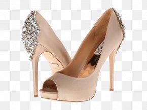 Satin Sandal Photos - Badgley Mischka Peep-toe Shoe Court Shoe High-heeled Footwear Stiletto Heel PNG