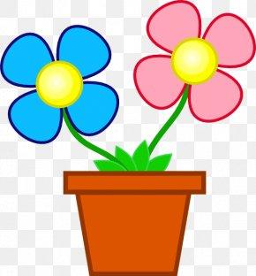 The Pot Cliparts - Flower Free Content Clip Art PNG