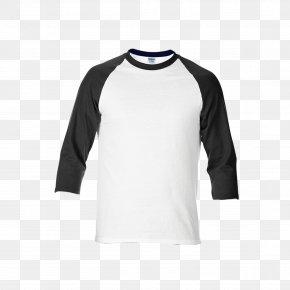 T-shirts - T-shirt Raglan Sleeve Gildan Activewear Collar PNG