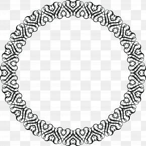 Invitation Frame - Black And White Picture Frames Flyer Clip Art PNG