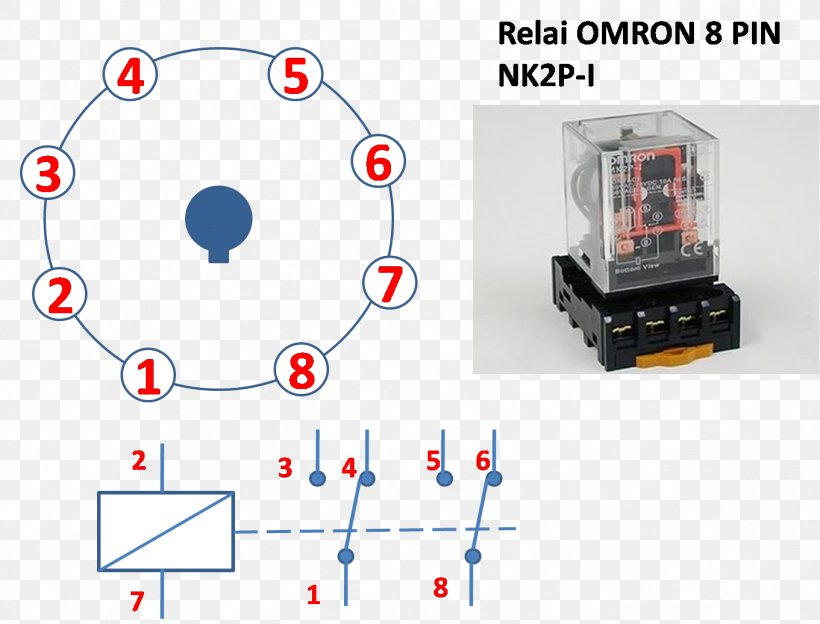 relay contactor wiring diagram  electric guitar input jack