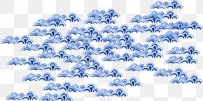 Cartoon Ocean Wave Vector Material - Euclidean Vector Wind Wave Cartoon PNG