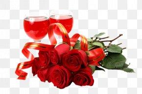 Valentine's Day - Valentine's Day Birthday Gift Flower Happiness PNG