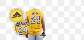T-shirt - Jersey T-shirt Los Angeles Lakers Sleeveless Shirt PNG