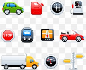 Vector Car Icon - Car Euclidean Vector Icon PNG