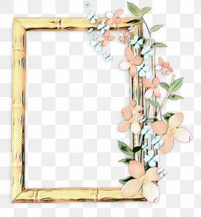 Picture Frames Floral Design Rectangle Mirror PNG
