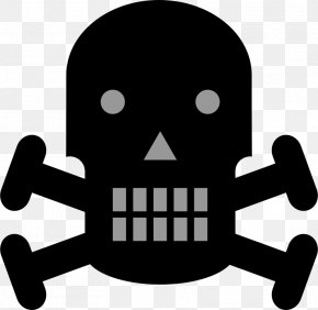 Crossbones Pictures - Warning Sign Hazard Symbol Skull And Crossbones Clip Art PNG