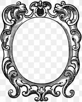 Ornate Vector - Picture Frames Ornament Clip Art PNG