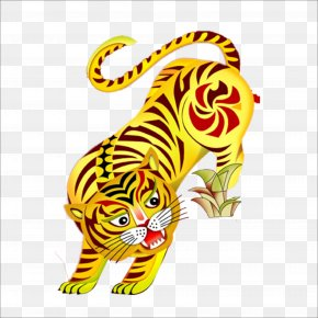 Tiger - Tiger Chinese New Year Traditional Chinese Holidays PNG