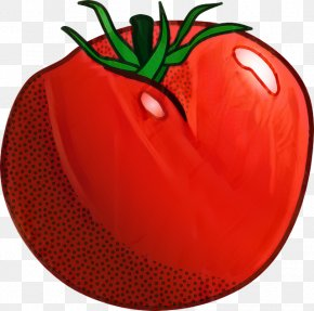Vegetarian Food Chili Pepper - Tomato Cartoon PNG