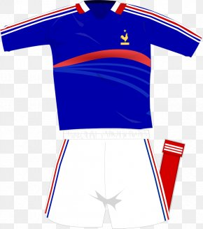 Football - France National Football Team Sports Fan Jersey Cheerleading Uniforms PNG