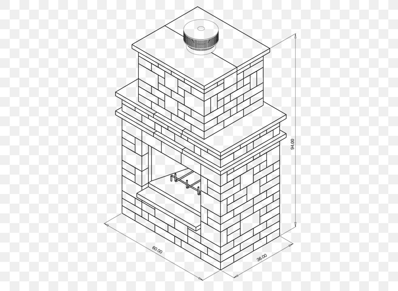 Outdoor Fireplace Living Room Drawing Fireplace Mantel Png 600x600px Outdoor Fireplace Artwork Black And White Brick
