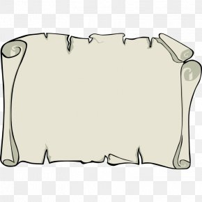 Blank Parchment Paper - Scroll Treasure Map Piracy Clip Art PNG