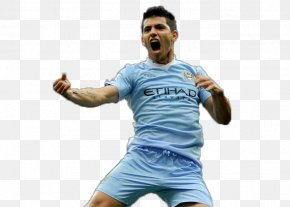 Sergio Agüero - Manchester City F.C. Club Atlético Independiente Argentina National Football Team Jersey PNG