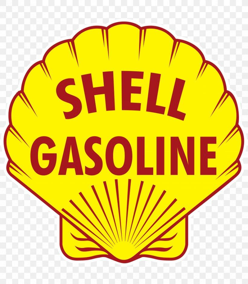 "Shell Gasoline 12/"" Gas Pump Decal"