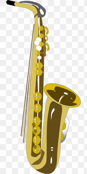 Musical Instruments - Saxophone Musical Instruments Clip Art PNG