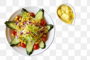 Vegetable Salad - Vegetarian Cuisine Food Calorie Healthy Diet Meal PNG