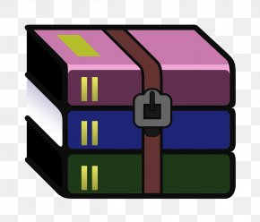 Zip Icon - WinRAR Computer Software Data Compression Zip PNG