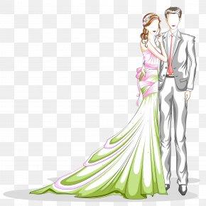 Wedding Material - Bridegroom Wedding Illustration PNG