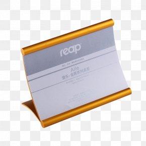 Metal Seat Card - Metal Tmall Alibaba Group PNG