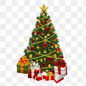 Santa Claus - Santa Claus Christmas Tree Gift PNG