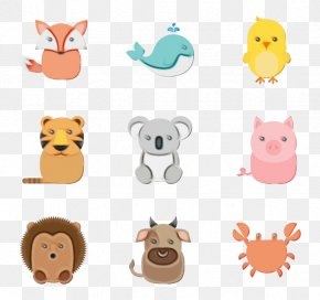 Toy Yellow - Animal Figure Cartoon Yellow Toy PNG