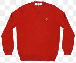 T-shirt - T-shirt Comme Des Garçons Sweater Sleeve Neckline PNG