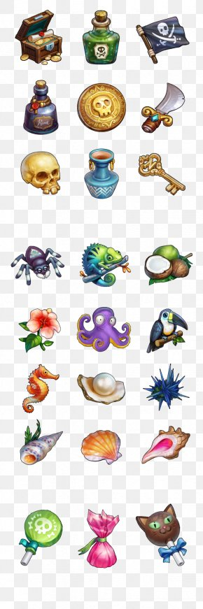 Seahorse - Wakfu Video Game User Interface PNG