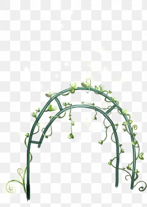 Cute Cartoon Hand-painted Wrought Iron Gate - Drawing PNG