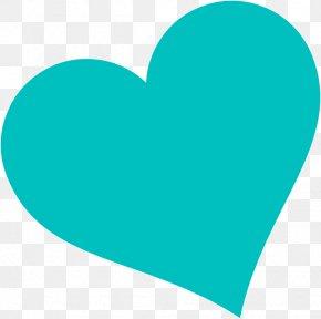 Heart Light Cliparts - Light Blue Light Blue Heart Clip Art PNG