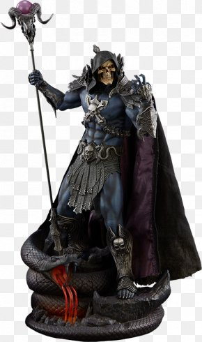 Action Figure - Skeletor He-Man Evil-Lyn Sideshow Collectibles Masters Of The Universe PNG