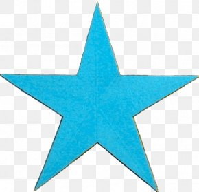 Blue Star - Barnstar House Decorative Arts Metal PNG