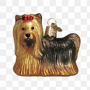 Santa Claus - Yorkshire Terrier Christmas Ornament Australian Silky Terrier Santa Claus Christmas Day PNG