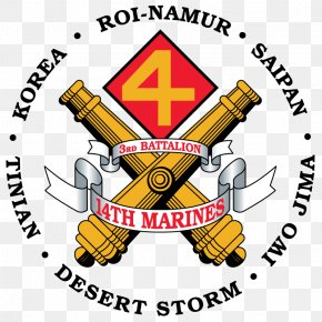 Battalion Sign - Marines 14th Marine Regiment Battalion United States Marine Corps 2nd Marine Regiment PNG