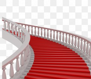 Stairs - Stair Carpet Stairs Red Carpet PNG