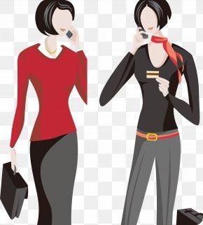 White Collar Women Call - White-collar Worker PNG