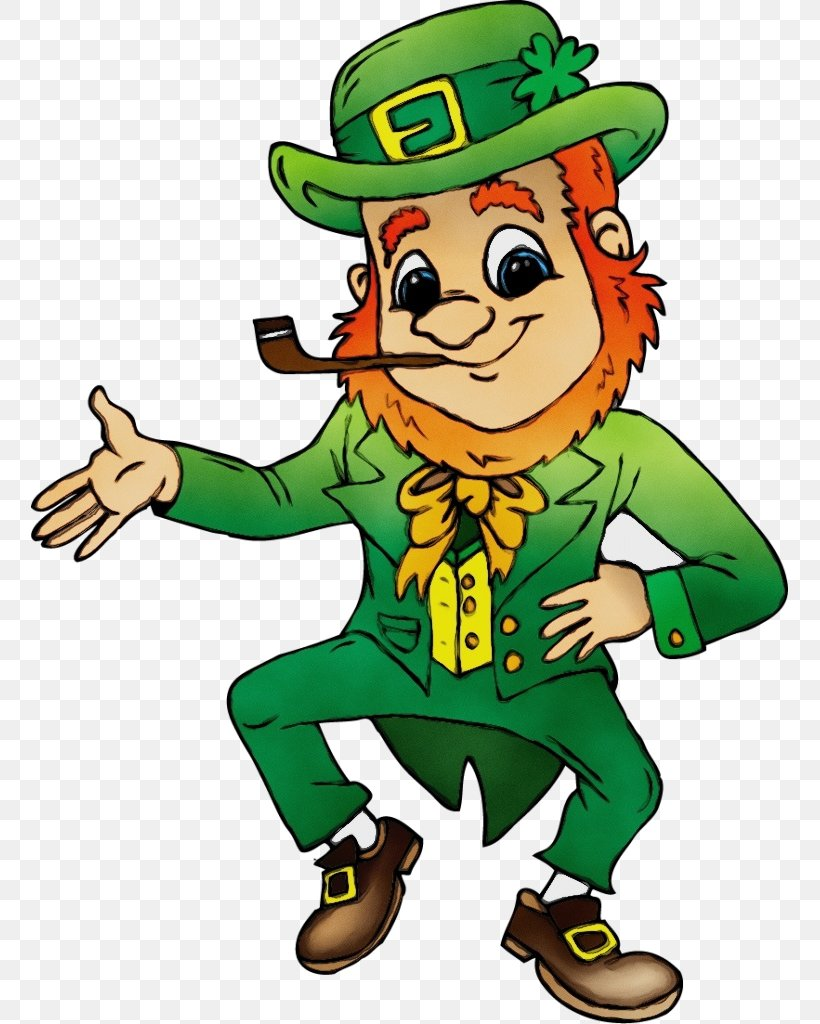 Leprechaun Png 757x1024px Watercolor Cartoon Costume Fictional Character Leprechaun Download Free