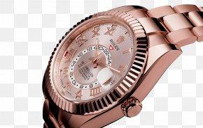 Pink Rolex Watch Watches Female Form - Rolex Datejust Rolex Daytona Rolex Submariner Rolex Sea Dweller PNG