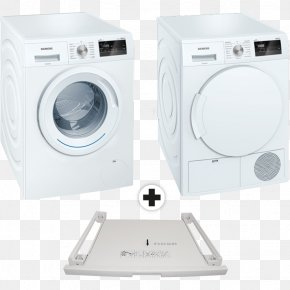 Machine A Laver - Washing Machines Clothes Dryer Siemens Home Appliance Laundry PNG