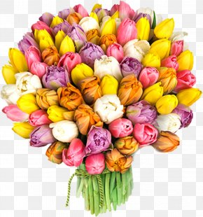 Women's Day - Flower Bouquet International Women's Day March 8 Holiday Woman PNG