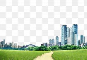 Posters Buildings Background - Skyscraper Metropolitan Area Daytime Skyline PNG