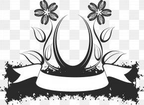 Floral Design - Floral Design Abstract Art Clip Art PNG