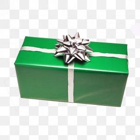 Green Gift Box - Gift Santa Claus Christmas Gratis Box PNG