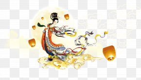 Mid-Autumn Moon Creative - China Mid-Autumn Festival Mooncake Traditional Chinese Holidays PNG