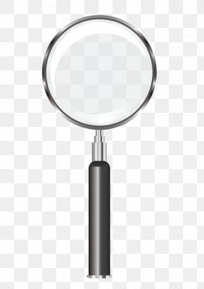 Vector Magnifying Glass Pattern - Magnifying Glass PNG