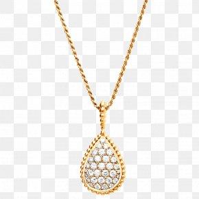 Necklace - Necklace Boucheron Pendant Jewellery Earring PNG
