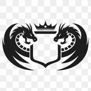 Molong Design Logo Design - Chinese Water Dragon Logo Graphic Design Illustration PNG