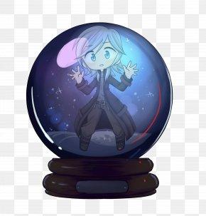 F K Snow Globe - Sphere Purple PNG